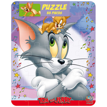 Tom and Jerrry ! Puzzle 35 pièces