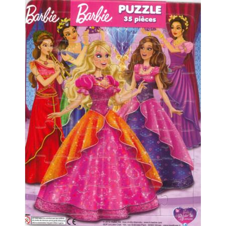 Barbie et le palais de diamant (diadème) ! Puzzle 35 pièces