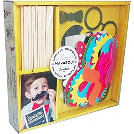 Coffret Photobooth - Le livre Que la fête commence avec 48 accessoires