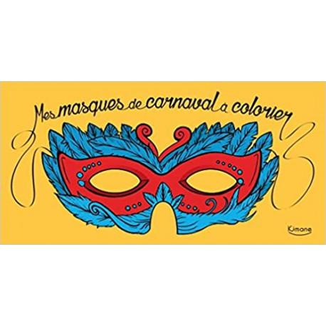 Mes masques de carnaval à colorier
