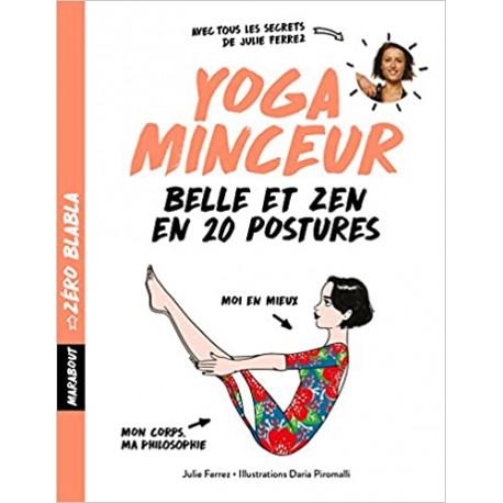 Zéro blabla - Yoga minceur (titre orange)
