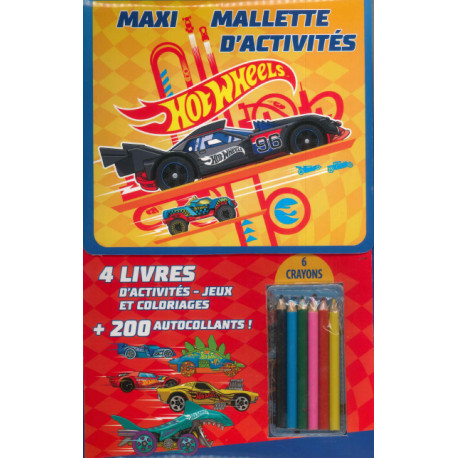 Maxi-Mallette d'activités - Hot Wheels