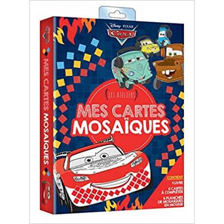 CARS - Pochette Les Ateliers - Mes cartes mosaïques