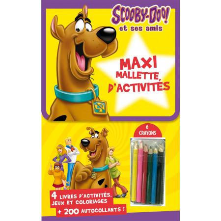 Maxi-Mallette d'activités - Scooby-doo et ses amis