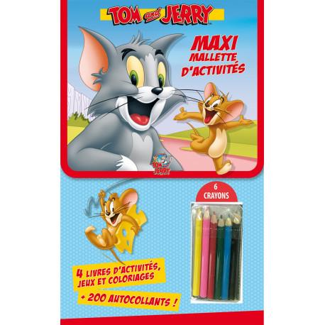 Maxi-Mallette d'activités - Tom et jerry