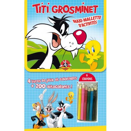 Maxi-Mallette d'activités - Titi, Grosminet et tous leurs amis !