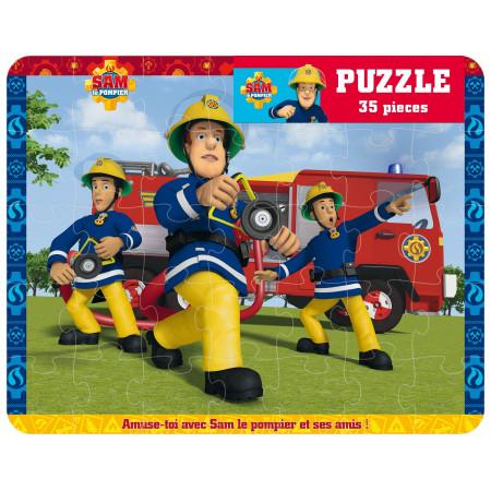 Puzzle 35 pièces Sam le pompier
