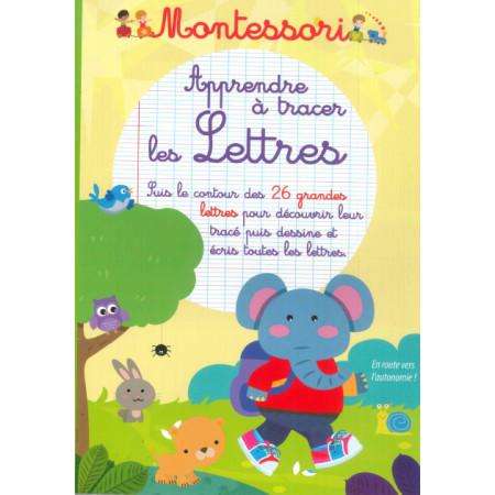 Montessori Apprendre à tracer les lettres