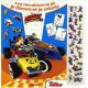 Mickey et ses amis, top départ avec mes stickers en 3D je décore et je colorie