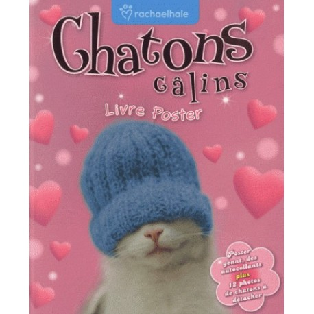 Chatons calins (Livre poster)