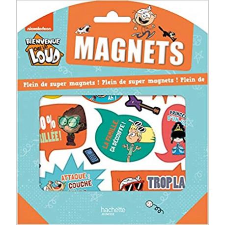 Bienvenue chez les Loud - Pochette magnets