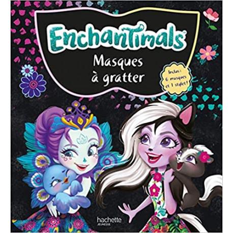 Masques à gratter Enchantimals - Avec 1 stylet