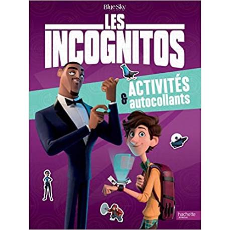 Les Incognitos - Activités et autocollants