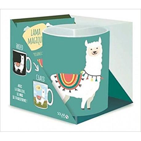 Coffret Lama mug magique