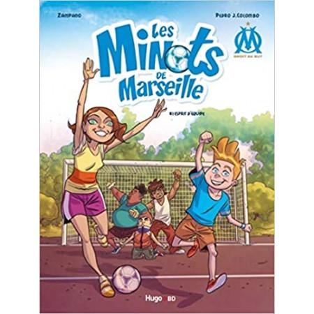 OM Droit au but ! Les minots de Marseille Tome 1