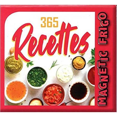 Magnetic frigo 365 recettes