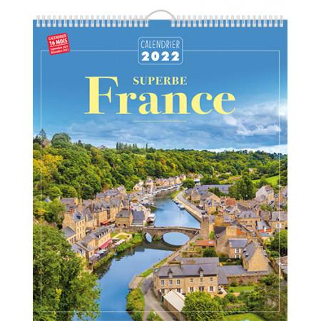 Calendrier 2022 - Superbe France
