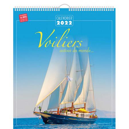 Calendrier 2022 - Voiliers autour du monde