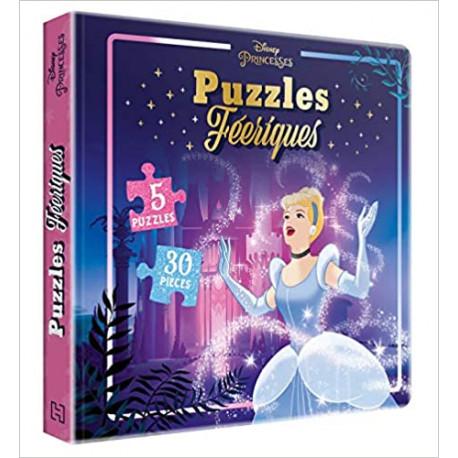 DISNEY PRINCESSES - Puzzles Féeriques - 5 puzzles 30 pièces