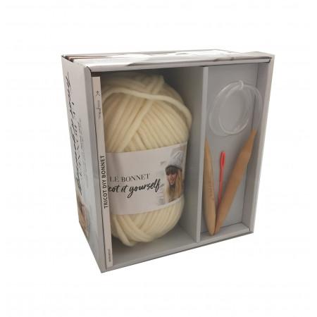Coffret le bonnet à tricoter