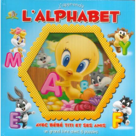 J'apprends l'alphabet avec Bébé Titi et ses amis
