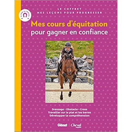 Coffret Mes cours d'équitation pour gagner en confiance (2 livres)