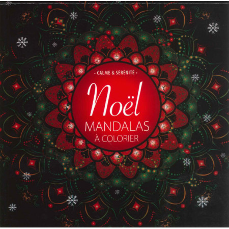 Noël, Mandalas à colorier