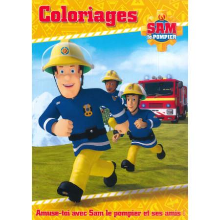 Coloriages Sam le Pompier