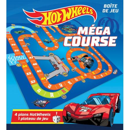 Boîte de jeux Hot Wheels Méga course