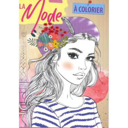 La mode à colorier