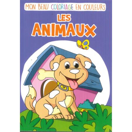 Mon beau coloriage en couleurs Les animaux