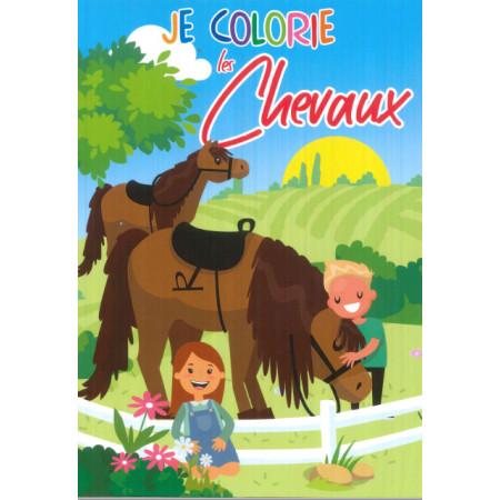 Je colorie les chevaux