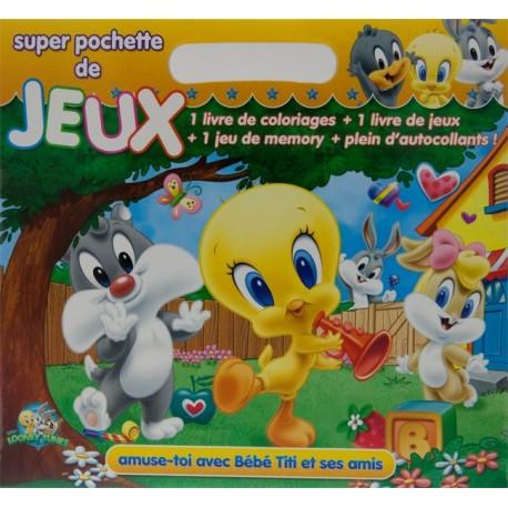 Bébé Titi et ses amis. Super pochette de jeux