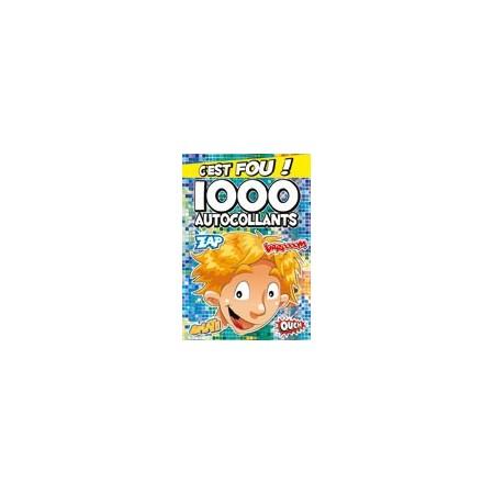 1000 autocollants (BLEU)