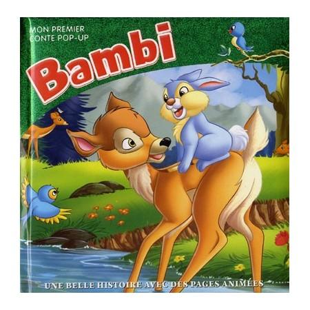 Bambi (vert). Mon premier pop-up