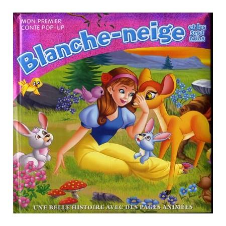 Blanche-Neige et les sept nains (rose). Mon premier pop-up