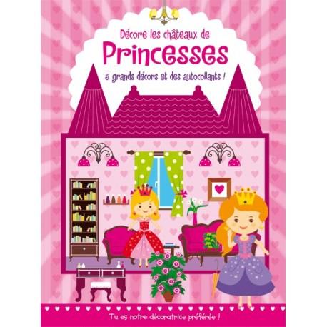 Décore les châteaux de Princesses avec des autocollants