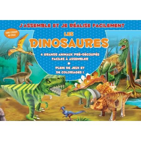 Les Dinosaures J'assemble et je réalise