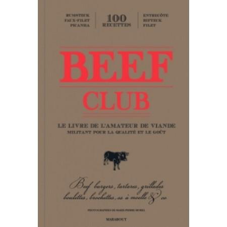 Beef club Le livre de l'amateur de viande