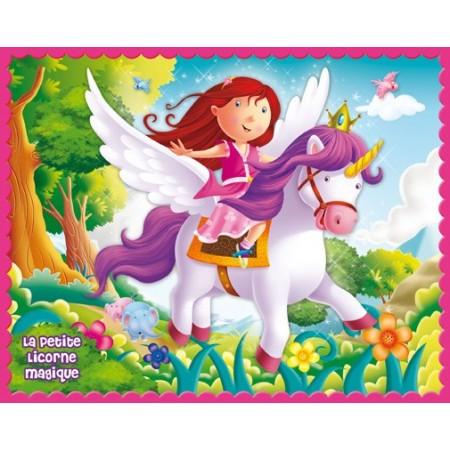 La petite licorne magique. Puzzle 35 pièces