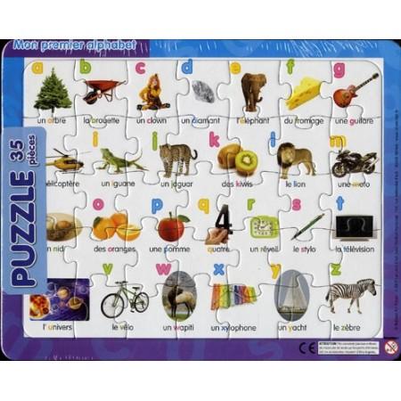 Mon premier alphabet. Puzzle 35 pièces
