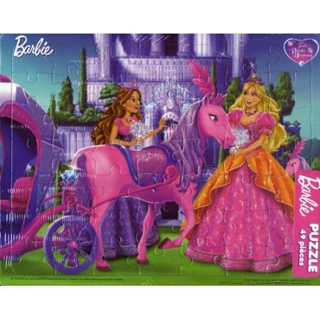 Barbie Palais de Diamant. Puzzle 49 pièces