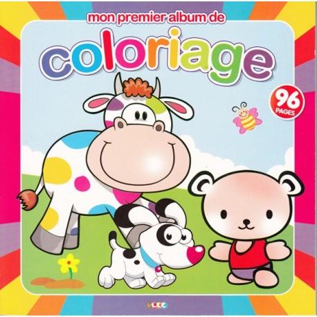 Mon premier album de coloriage (vache)