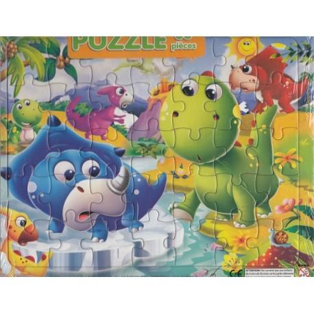 L'aventure des dinosaures Puzzle 35 pièces