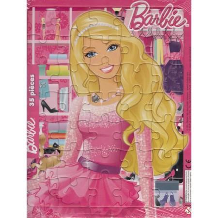 Barbie Ma robe de bal ! Puzzle 35 pièces