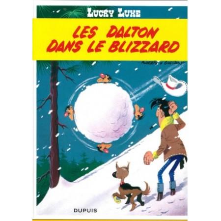 Lucky Luke Les Daltons dans le blizzard
