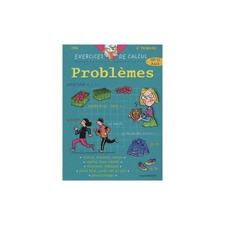 Problèmes CM2 - Exercices de calcul