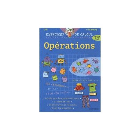 Opérations CM1 9-10 ans