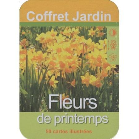 Fleurs de printemps - 50 cartes illustrées
