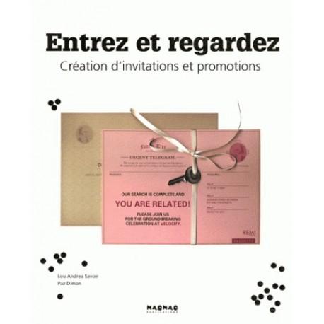 Entrez et regardez - Création d'invitations et promotions